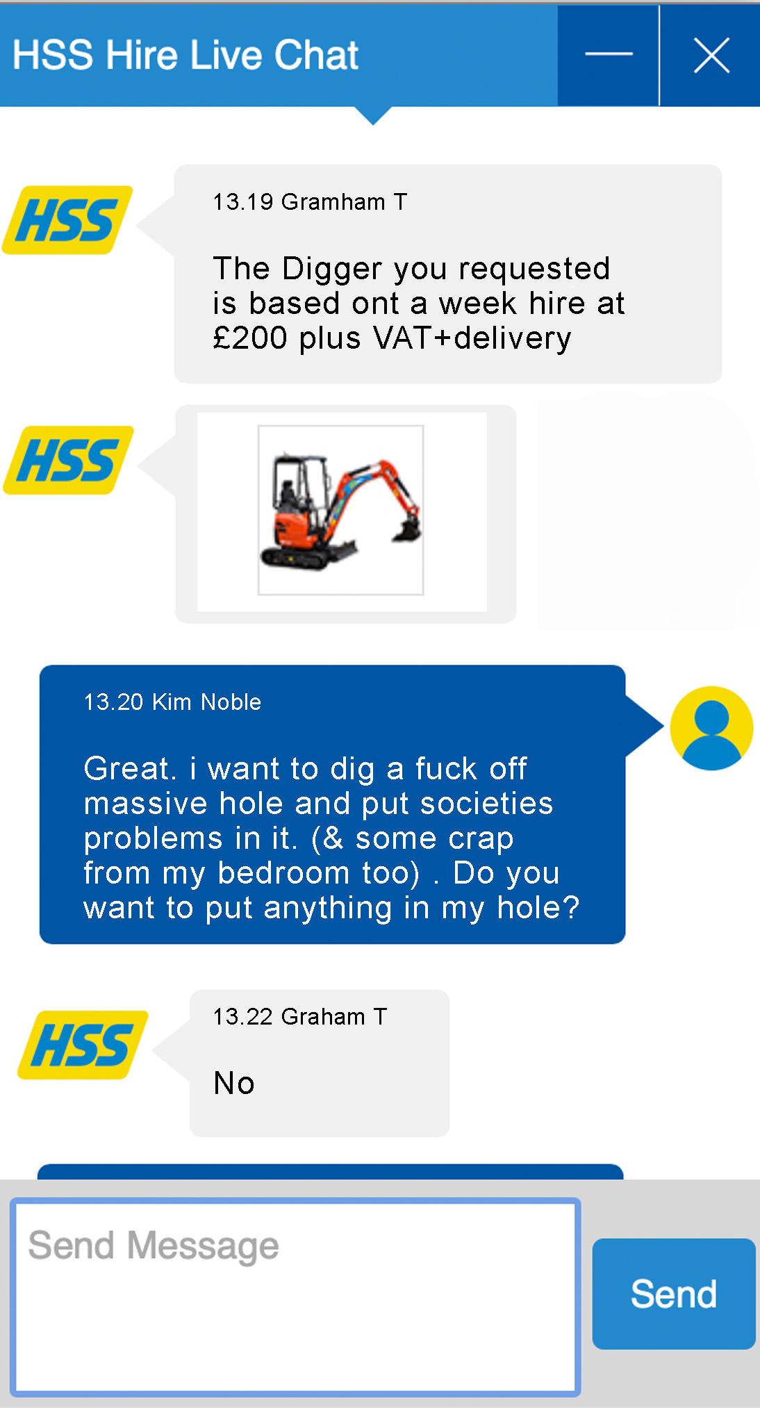 A Conversation about a hole