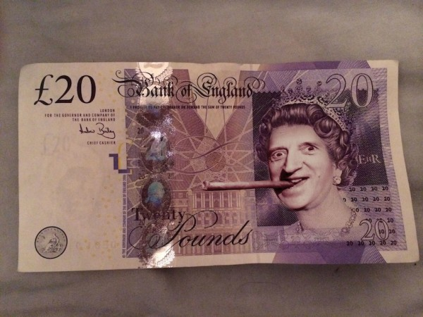 jimmysaville20poundnote