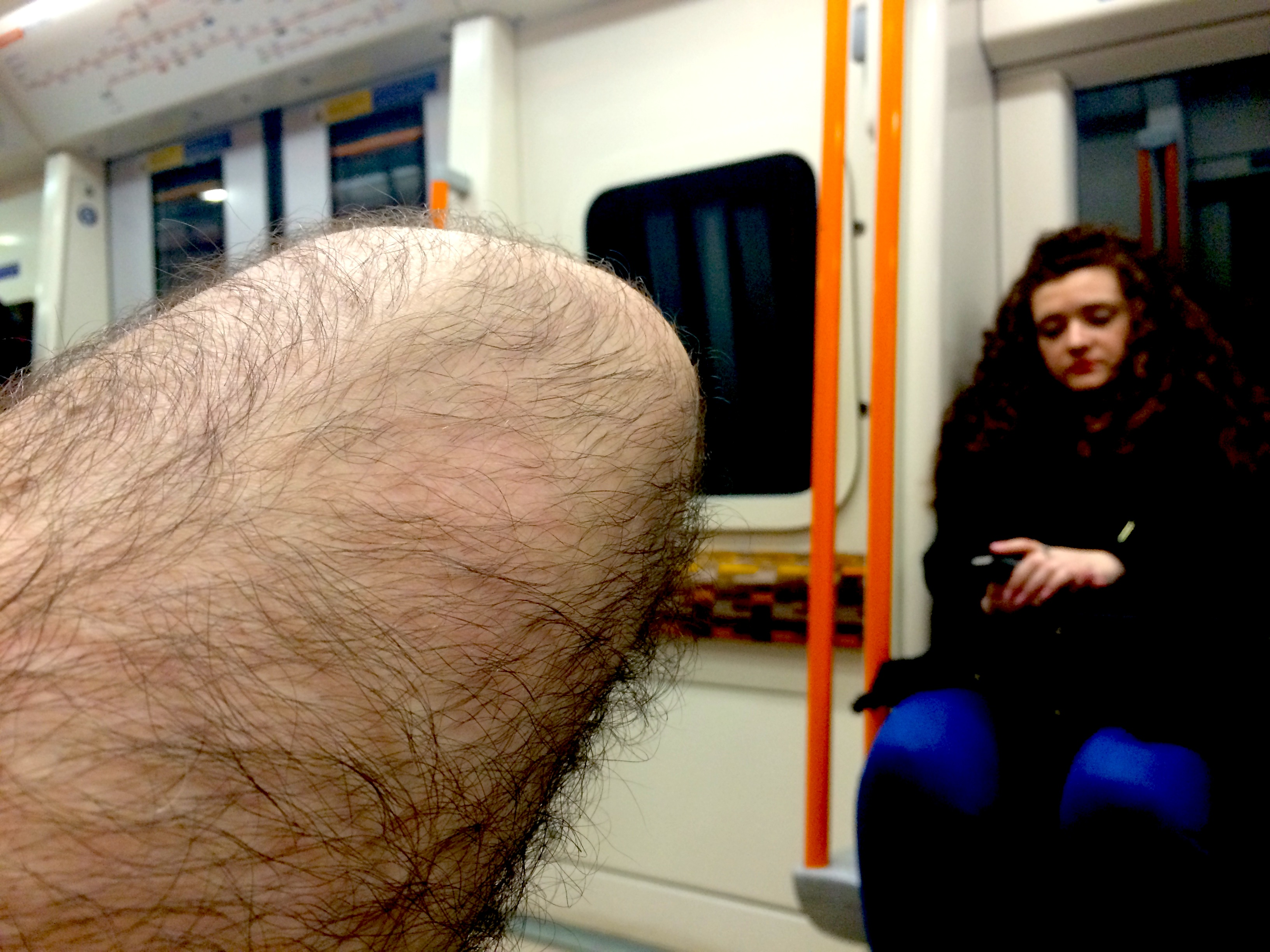 close ups of people on buses (& trains & boats & planes)